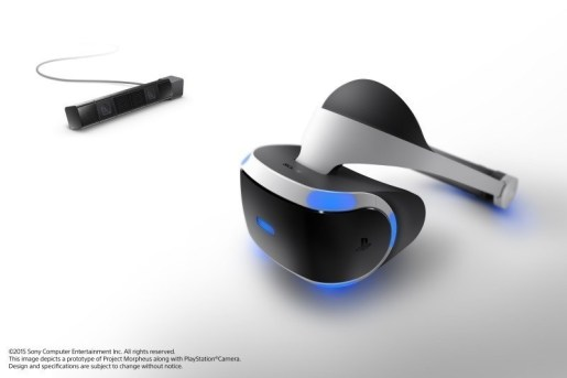 Sony Computer Entertainment Inc Project Morpheus