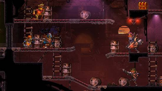 SteamWorld Heist screenshot 04