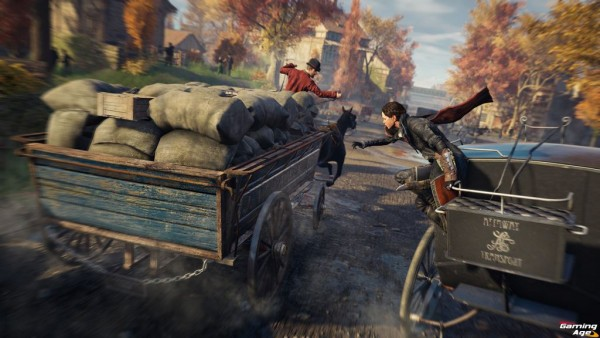 Assassins Creed Syndicate-EvieCleanupCartHijack