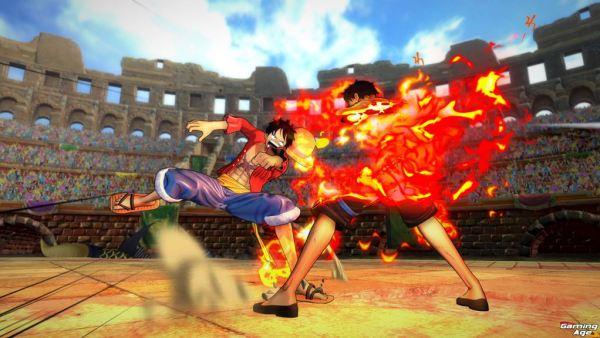 Onie Piece Burning Blood_02_LuffyVSAce_logiaguard