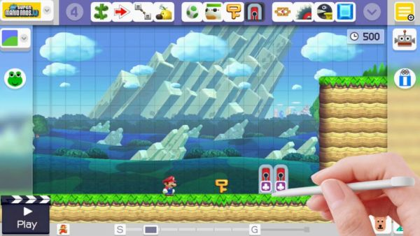 super mario maker update