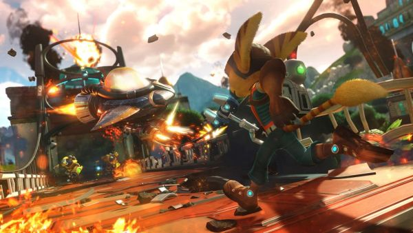 Ratchet Clank ps4 2