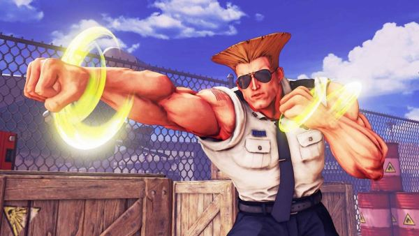 Street Fighter V-Guile 1