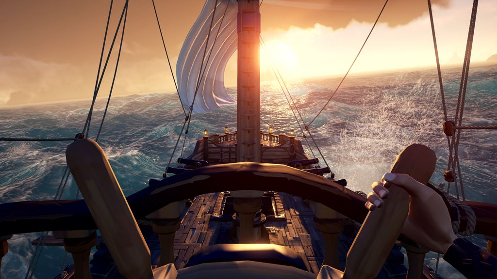 Ahoy Sea Of Thieves Gets A Gameplay Launch Trailer