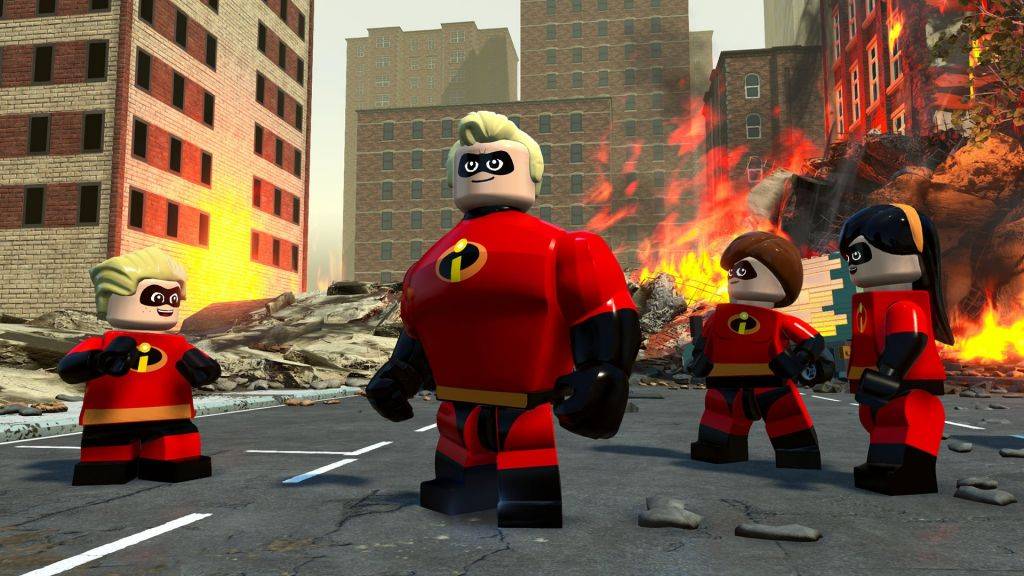 LEGO The Incredibles to bring Pixar's Parr family to your console