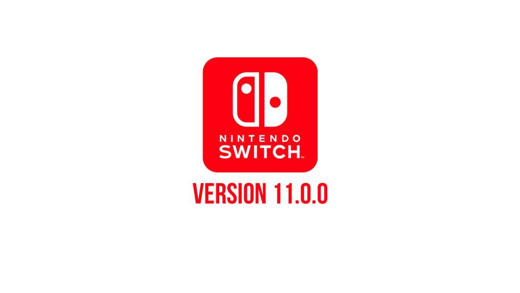 nintendo switch version 11 0 0