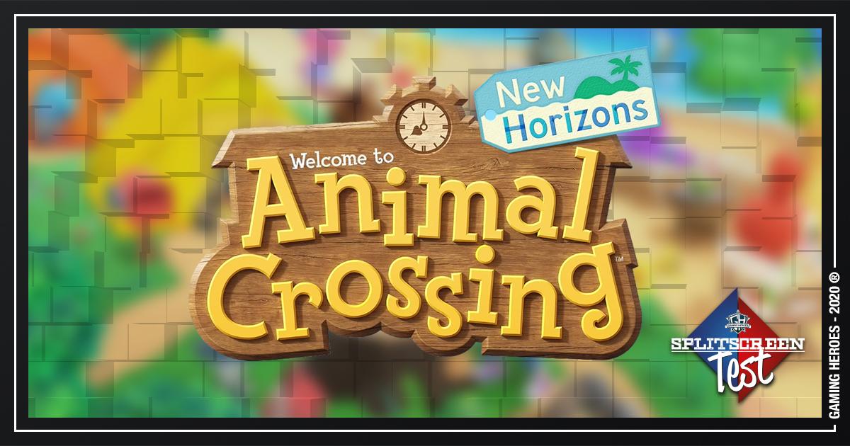 Animal Crossing: New Horizons - Splitscreen-Test #22