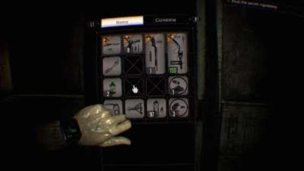 Resident Evil 7 Inventar