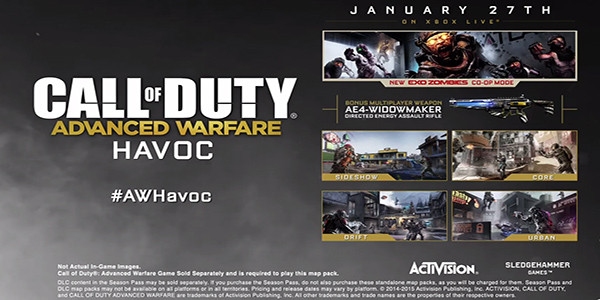News: Havoc DLC for Call of Duty: Advanced Warfare is out now on PS4 on