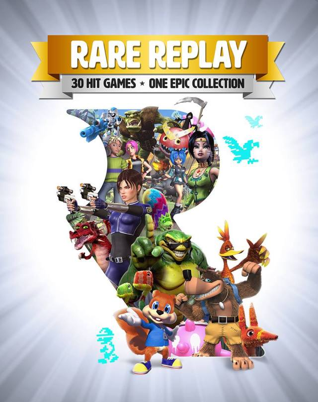 Rare Replay coming exclusively to Xbox One.