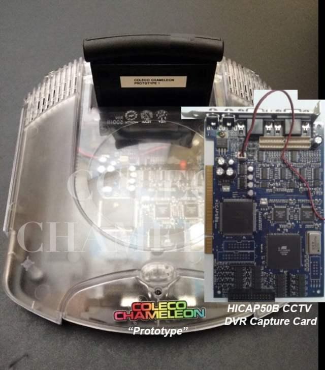 GamingConviction.com - Coleco Chameleon Caught Using Capture Card ...