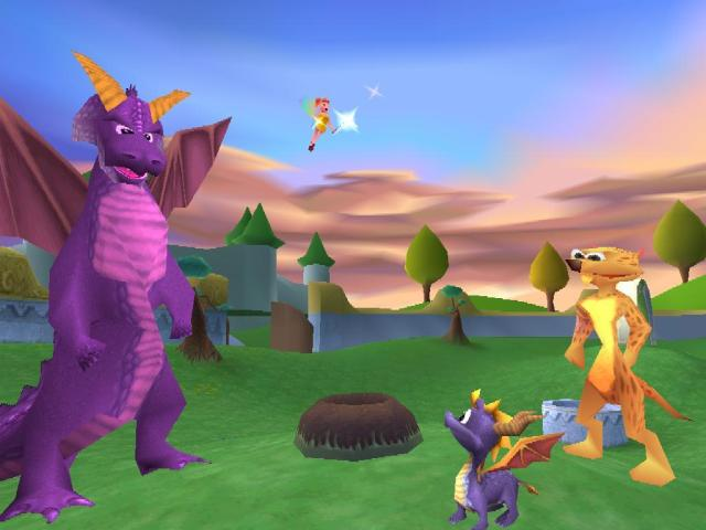 Image result for spyro year of the dragon