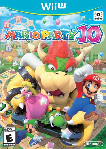 Crash the Biggest Party with Bad Guy Bowser in Mario Party 10 for Wii U