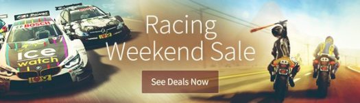 Humble Store Racing Weekend Sale