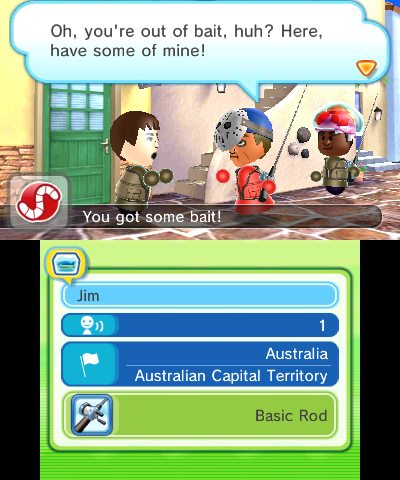 Kick back and reel in a few fish and some legendary monsters on the StreetPass Islands in Ultimate Angler. (Photo: Business Wire)