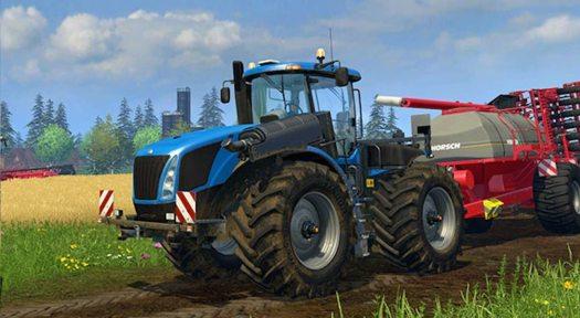 Farming Simulator 15 Console Multiplayer Trailer