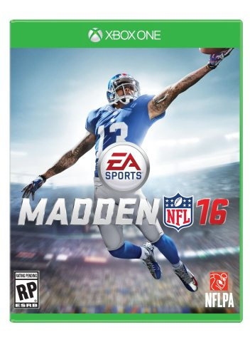 Odell Beckham Jr. Claims Victory in Madden NFL 16 Cover Vote