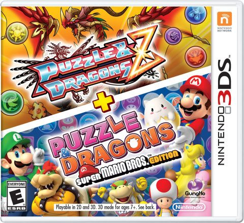 Nintendo Launches Two Gigantic Puzzle Games for 3DS