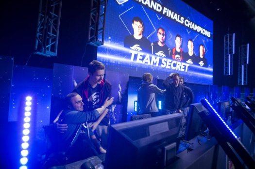 European Team Secret Wins the Crown at First Major Dota 2 Tournament