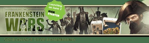 The Frankenstein Wars New Gamebook Headed to Kickstarter