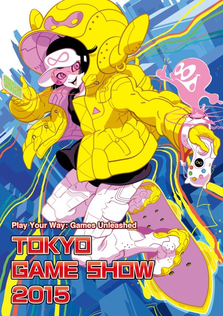 Tokyo Game Show 2015 Main Visual Unveiled
