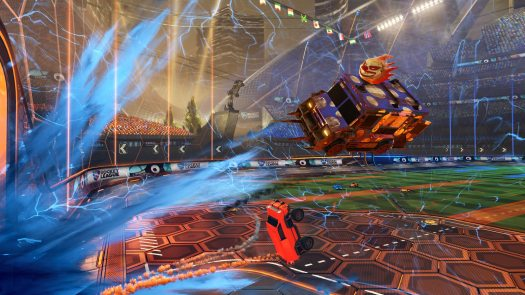 Rocket League Available Today on PS4 and PC
