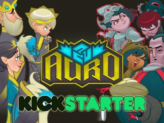 Auro Now on Kickstarter and Steam Greenlight