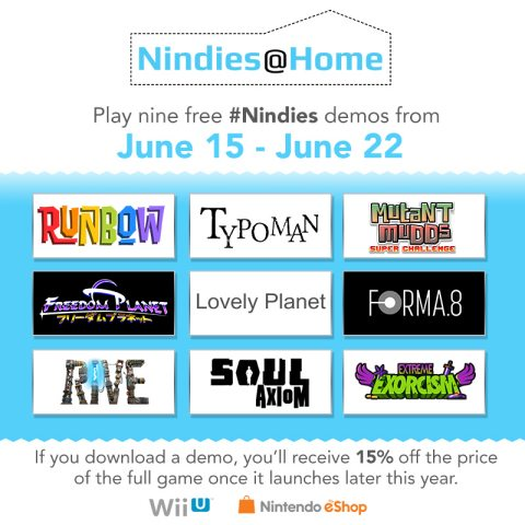 Nindies@Home Lets Players Test-Drive 9 Indie Games During E3