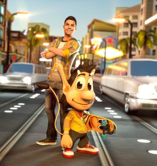 Ronaldo&Hugo: Superstar Skaters Mobile Game Available Now