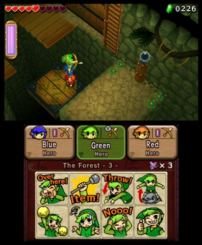 E3 2015 The Legend of Zelda: Tri Force Heroes Details and Video