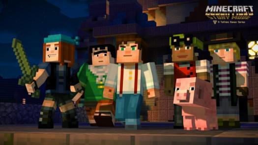 Minecraft: Story Mode - A Telltale Games Series World Premiere Trailer & First Cast Details
