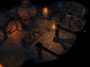 Tungdil in the kitchen of Lot-Ionan's Vaults (work-in-progress).