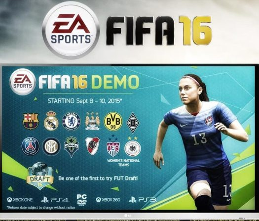 EA SPORTS FIFA 16 Demo Available Now