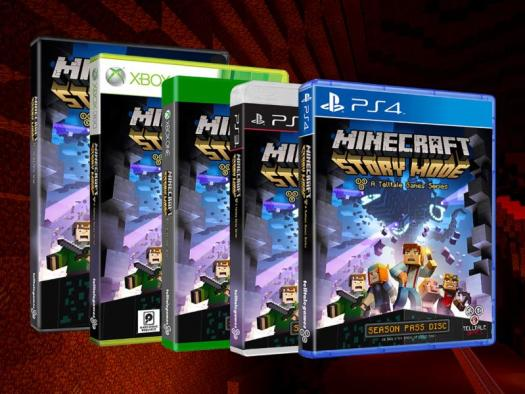 Telltale Games and Mojang Reveal Premiere Dates for Minecraft: Story Mode