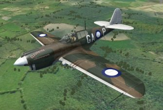 P40F WarHawk New for WarBirds 2016