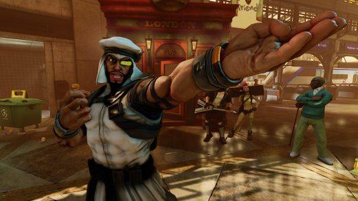 Street Fighter V Rashid Gaming Cypher copy