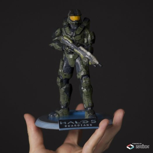 Customizable 3D Printed Halo Spartans Now Available to Fans Worldwide
