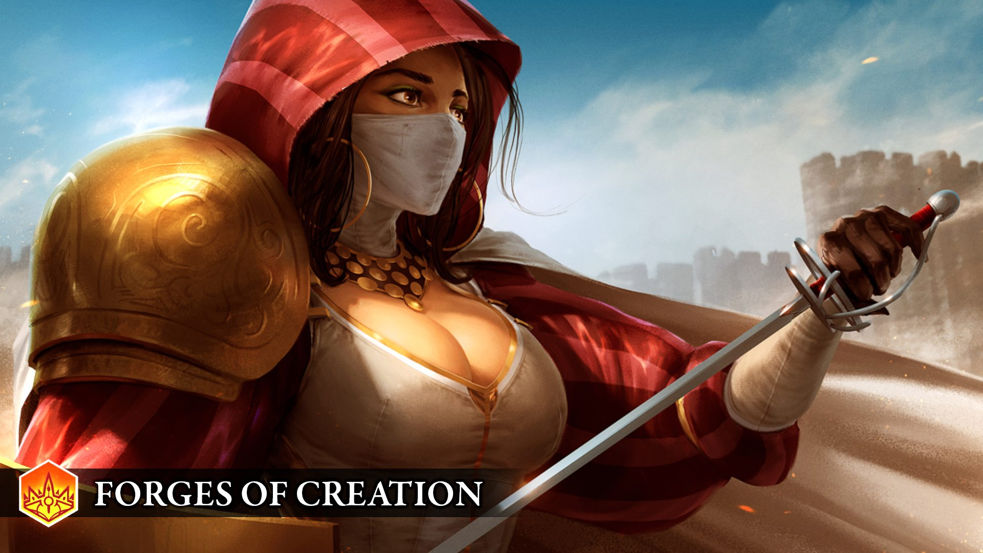 Endless Legend Forges Of Creation Sister Of Mercy Hero Concept Gaming Cypher Gaming Cypher