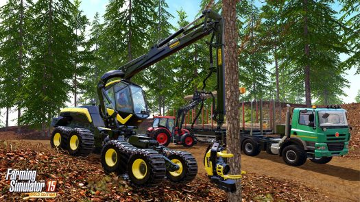Farming Simulator 15 GOLD Edition Now Available for PS4, Xbox One and PC