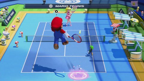 Nintendo Serves up Family Fun with Mario Tennis: Ultra Smash for Wii U