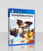 Overwatch Box Art PS4 Gaming Cypher