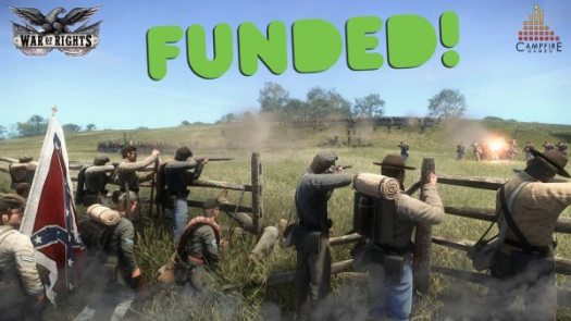 War of Rights Hits Initial Funding Target on Kickstarter