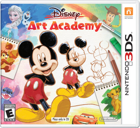 Learn to Draw Dozens of Disney and Pixar Characters in Disney Art Academy