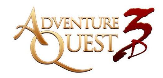 AdventureQuest 3D Logo Gaming Cypher
