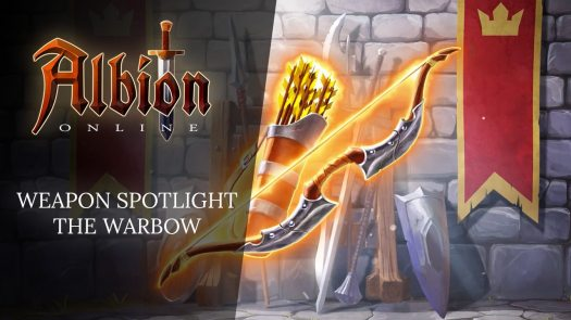 Albion Online New Weapon Spotlight Video Features the Warbow