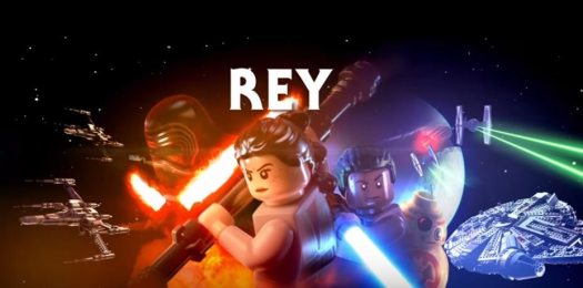 LEGO Star Wars: The Force Awakens Character Spotlight Video Features Rey