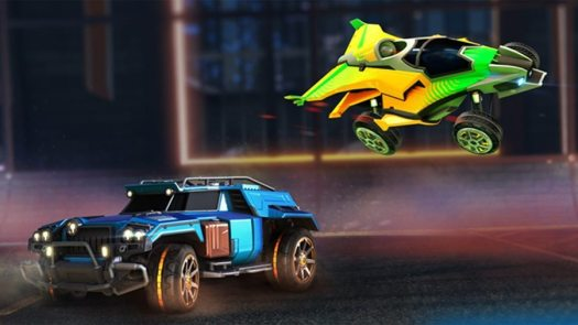 Rocket League Gets 2 Classic Battle-Cars as Premium DLC