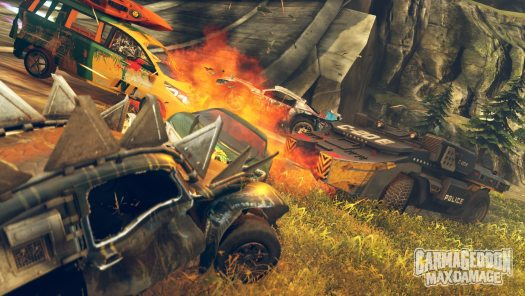 Carmageddon: Max Damage Now Available at Retail Stores Across North America