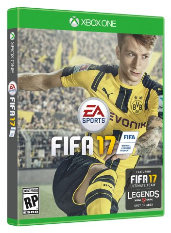 EA SPORTS FIFA 17 Global Cover Athlete is Borussia Dortmund's Marco Reus