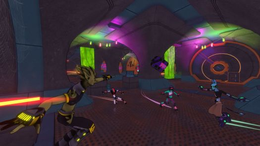 Hover: Revolt of Gamers New Update Features Hover City Sewers